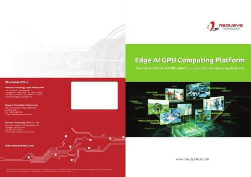 2021 Edge AI GPU Computing Platform
