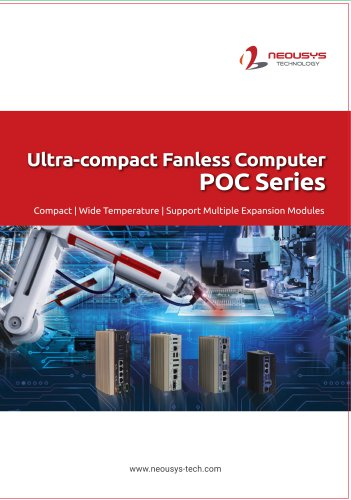 2021 Ultra-Compact Fanless Computer- POC Series