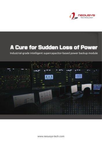 Supercaps Power Backup Module