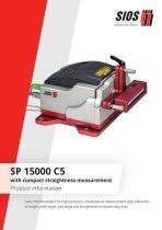 Calibration laser interferometer SP 15000 C5 - 1