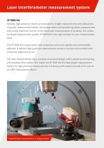 Laser interferometer SP 5000 NG - 2