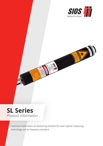 Stabilized HeNe lasers SL Series
