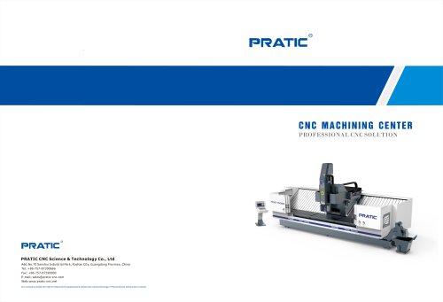 CNC Aluminum Profile Machining Center PRATIC CNC