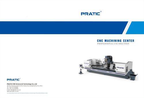PRATIC CNC Milling Machine Catalogue