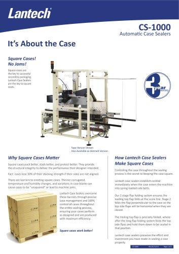 CS-1000 Automatic Case Sealers