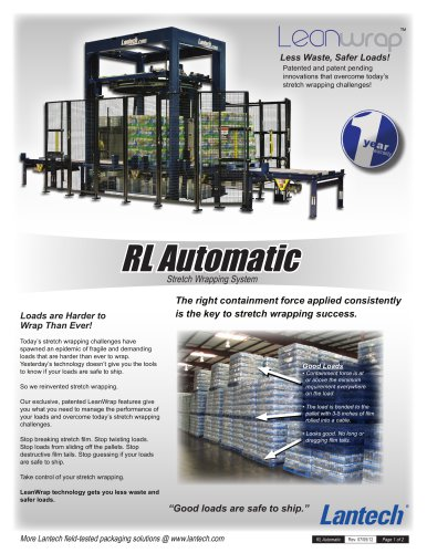RL Automatic Stretch Wrappers