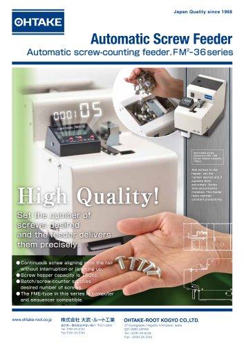 Automatic screw feeder FM-36 Series