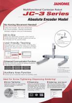 JC-3 Series Absolute Encoder Model Cartesian Robot