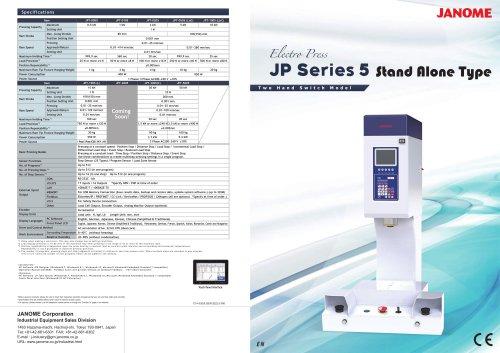 JP5T Series C-Frame Stand Alone Servo Press