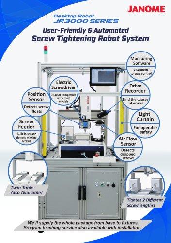 JR3000 Screw Tightening Robot