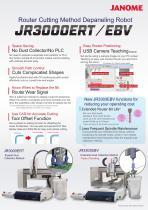 JR3000ERT/EBV Depaneling Robot