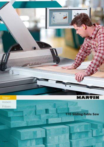 T70 sliding table saw