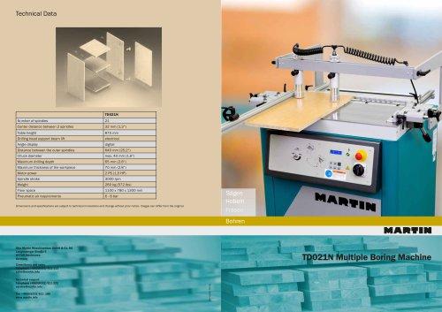 TD021N Multiple Boring Machine