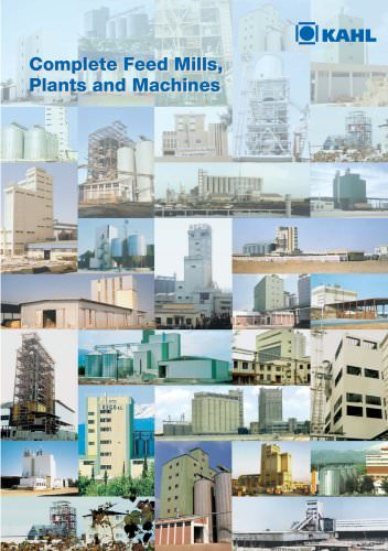 Feedmills, Plants, and Machines