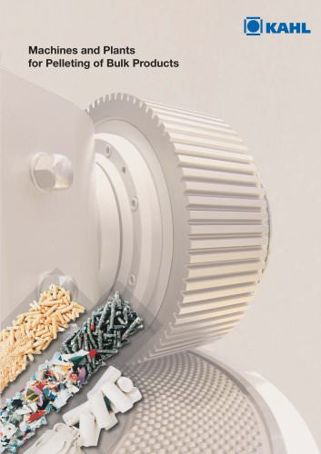 Process technology for economic compacting by means of pelleting