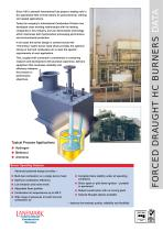 FORCED DRAUGHT HC BURNERS