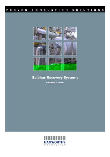Sulphur Recovery Systems