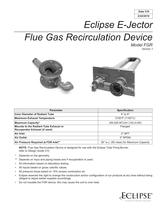 Eclipse E-Jector Flue Gas Recirculation Device