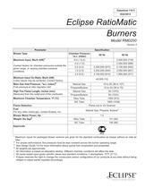 Eclipse RatioMatic Burners M0200