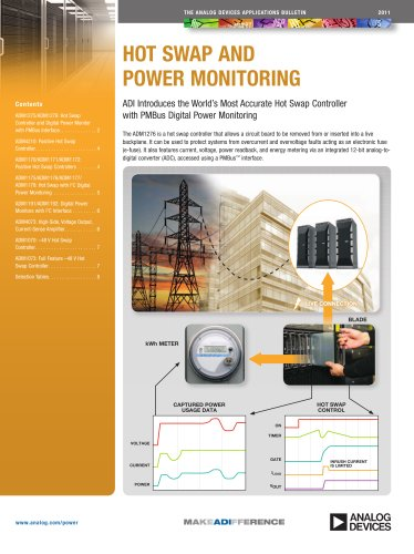 Application Bulletin: ADI Introduces the World?s Most Accurate Hot Swap Controller with PMBus Digital Power Monitoring