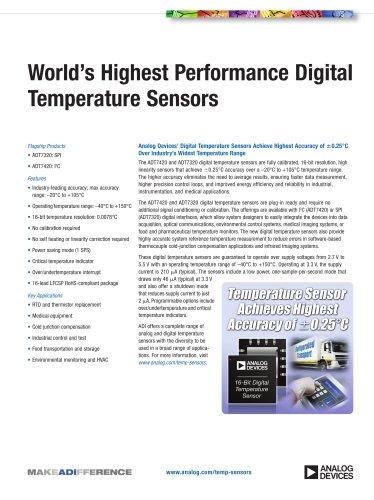 Digital Temperature Sensors