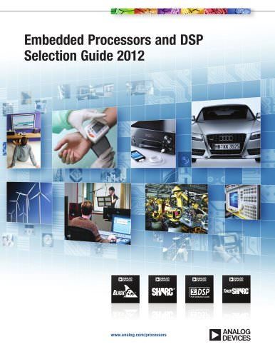 Embedded Processors and DSP Selection Guide 2012