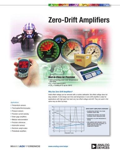 Zero-Drift Amplifiers