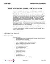 HAWK INTEGRATED BOILER CONTROL SYSTEM