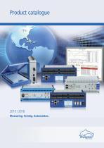 Product catalogue 2015-16