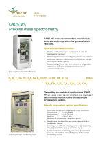 GAOS MS Process mass spectrometry