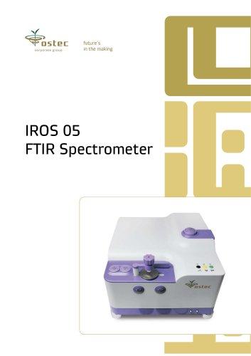 IROS 05 FTIR SPECTROMETER