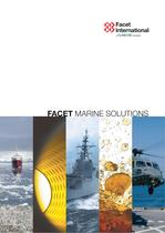 "General brochure of ""Marine Solutions"""