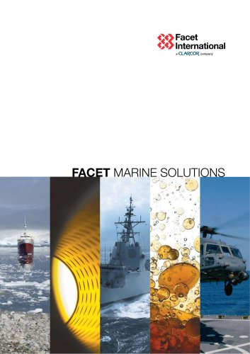 "General brochure of ""Marine Solutions"""