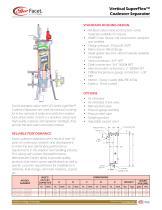 Vertical SuperFlex Coalescer Separator