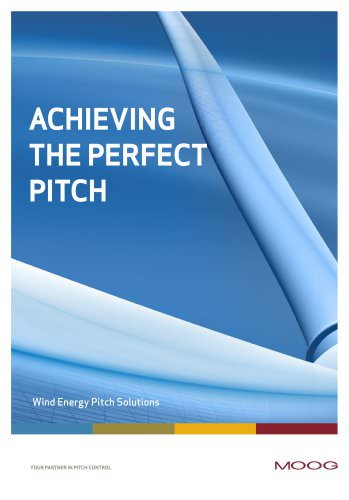 Achieving theperfect pitch - Wind Enegy Pitch Solutions