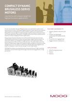 Compact Dynamic Brushless Servo Motors