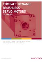 Compact Dynamic Brushless Servo Motors CD Series