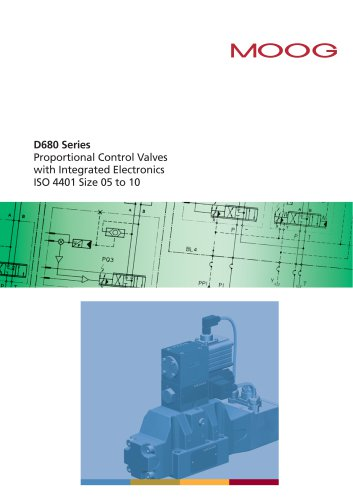 D680 SERIES PROPORTIONAL CONTROL VALVES WITH INTEGRATED ELECTRONICS