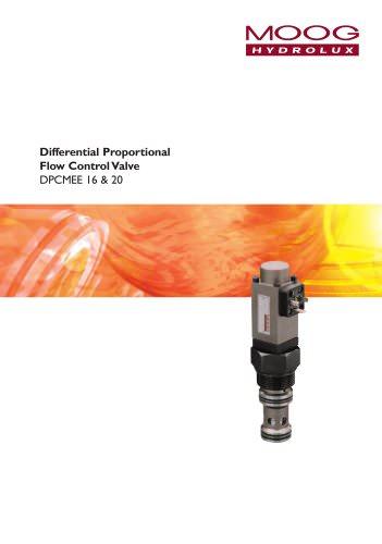 Differential Proportional Flow Control Valve DPCMEE 16 & 20