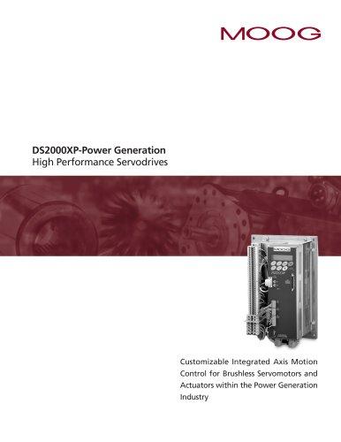 DS2000XP-Power Generation High Performance Servodrives