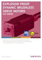 Explosion Proof Dynamic Brushless Servo Motors - ExD Series