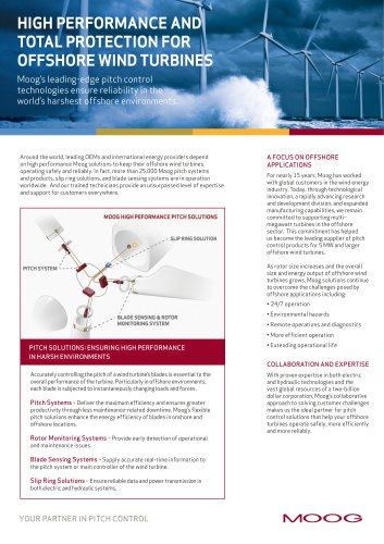 High Performance and Total Protection for Offshore Wind Turbines