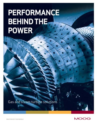 Performance behind the Power - Gas and steam turbine solutions