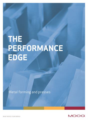 The Performance Edge - Metal forming and presses