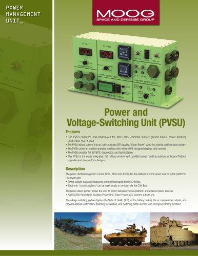 Power and Voltage-Switching Unit (PVSU)