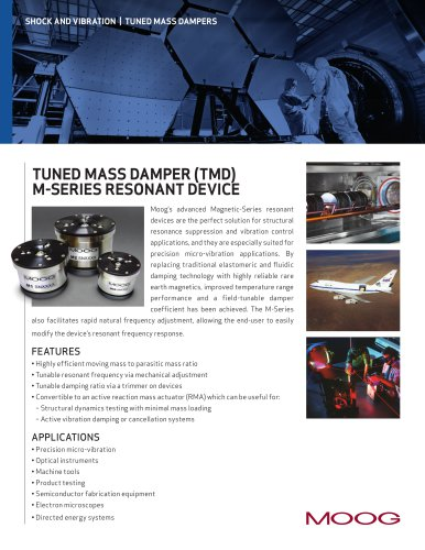 SHOCK AND VIBRATION   TUNED MASS DAMPERS