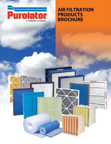 Purolator C&I Air Filtration Products Brochure