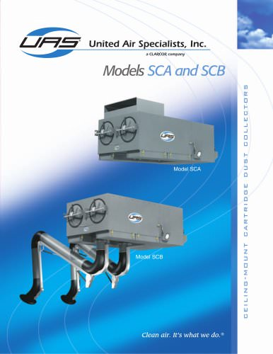 Ambient / Source Capture Cartridge Dust Collector - SCA / SCB