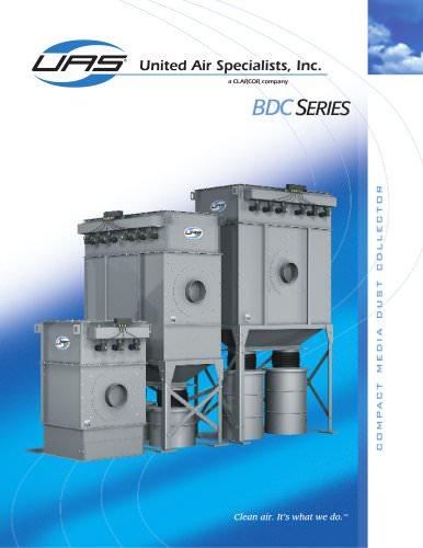 Compact Media Dust Collectors - BDC Series