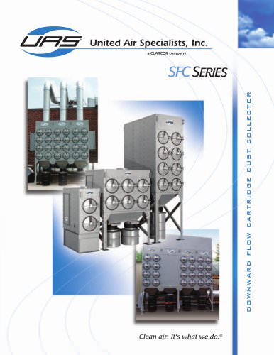 Downward Flow Cartridge Dust Collector - SFC Series